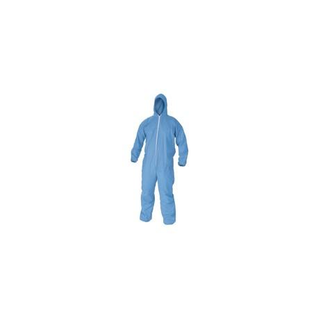 Combinaison KLEENGUARD C1 bleue avec capuche - l'unité