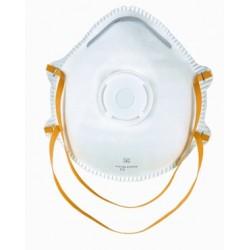 Demi-masque de protection FFP1 avec soupape - 10 pièces