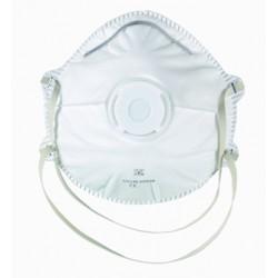 Demi-masque de protection FFP2 avec soupape - 10 pièces