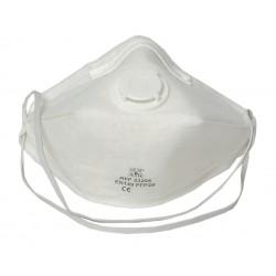 Demi-masque de protection FFP2 avec soupape et pliable - 20 pièces