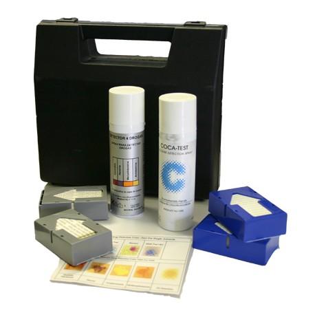 Kit D4D Cannabis, Héroïne, Cocaïne, Amphétamine, Méthamphétamine - 100 tests