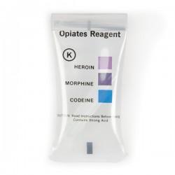Test K : Opiacés (Héroïne - Codéïne - Morphine) - 10 tests