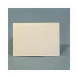 TRANSFERT SOUPLE TRANSPARENT 5 x 8 cm - lot de 10