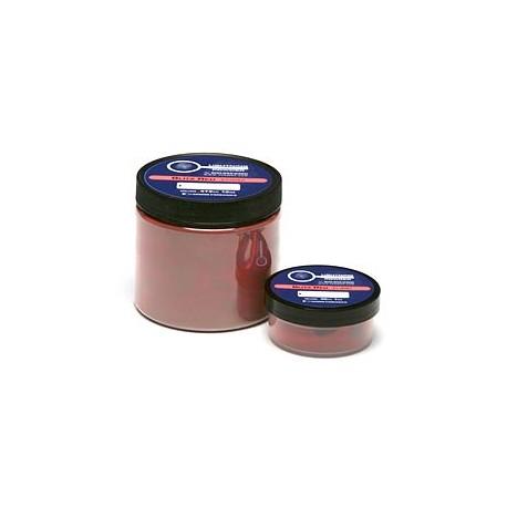 poudre d'empreinte magnétique fluorescente rouge - pot de 110 g