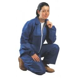 Combinaison KLEENGUARD C1 bleue sans capuche - l'unité