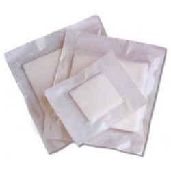 Compresse Stérile Non tissée 4 plis 5x5 cm - 50 sachets de 5 compresses