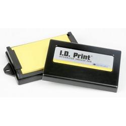 Tampon encreur rectangulaire I.D. Print® (encre Incolore) - 7.6 x 11.40 cm