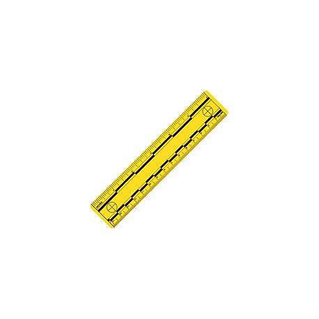 Réglet plastique - 15 cm