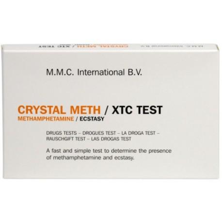 MMC - Crystal Meth/XTC - 10 tests