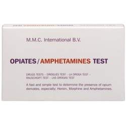 MMC - Opiacés - Amphétamines - 10 tests