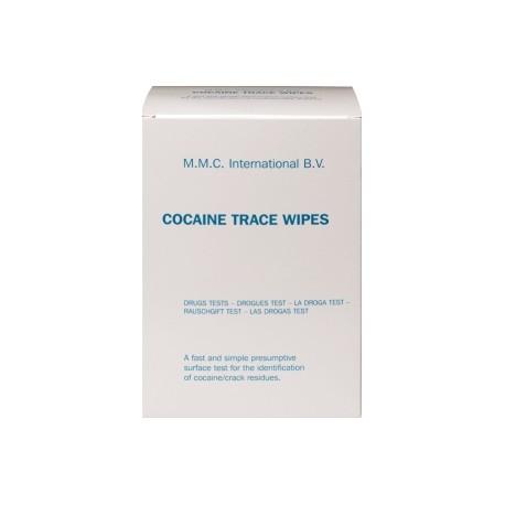 """MMC - """"Lingettes détection Cocaïne - boîte de 50"""