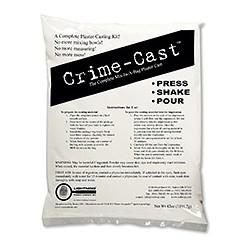 Kit plâtre de moulage Crime Cast - l'unité