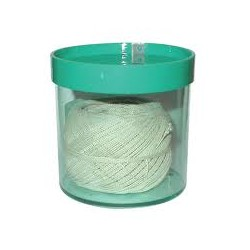 Ficelle blanche sous boîte plastique avec découpeur - 250 m - l'unité