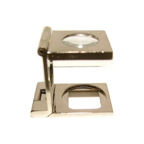 Loupe compte fils acier- lentille 10 mm - grossissement 10 - l'unité