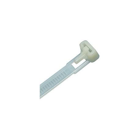 Liens en plastique - Non Réutilisable - 20 cm - 100 unités