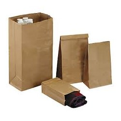 Sac kraft fond renforcé 20 x 30 + 10 cm - lot de 250