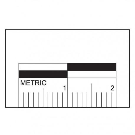 Réglette adhésive 2 cm - lot de 250