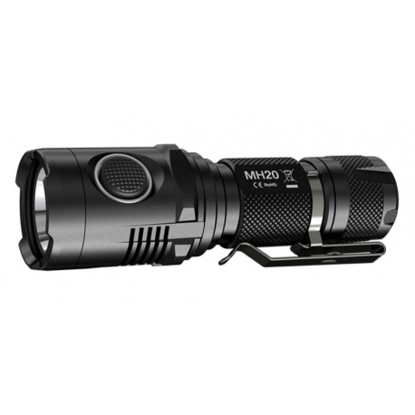 Nitecore MH20 - Lampe torche 1000 Lumens rechargeable (sans accus) - l'unité