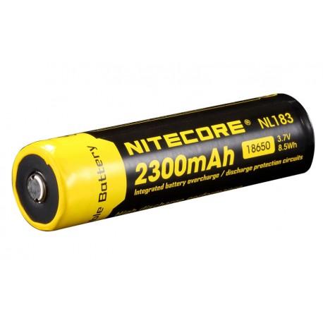 Accumulateur format 18650 Li-ion 2 300 ma/h - l'unité