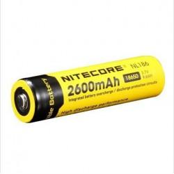 Accumulateur format 18650 Li-ion 2 600 ma/h - l'unité