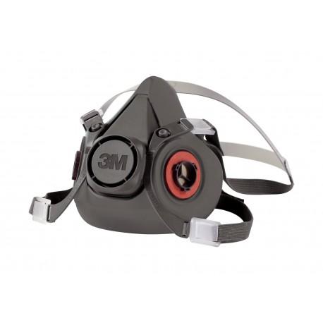 3M Série 6000 - Demi-masque de protection réutilisable - l'unité