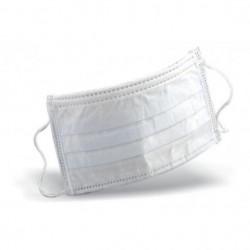 Masques médical KOLMI 3 plis Type II avec élastique non tissé - 60 pièces - Norme EN14683