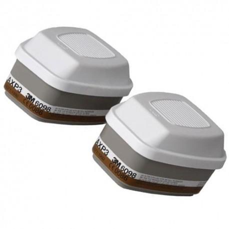3M Série 6000 - Filtres AXP3 NR 3M 6098 - le jeu de 2 filtres