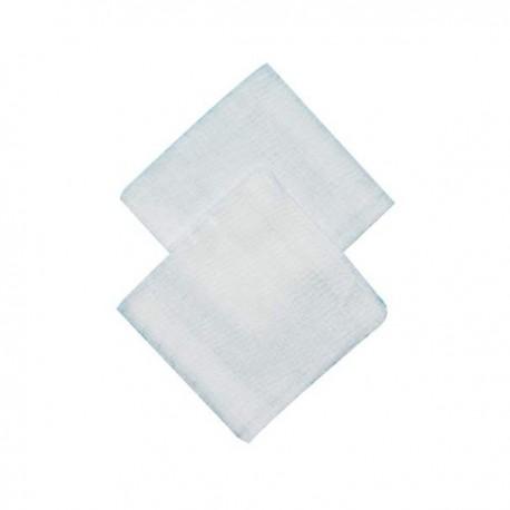 Compresse stérile 5x5 cm Non tissée 12 plis emballage individuel - lot de 50