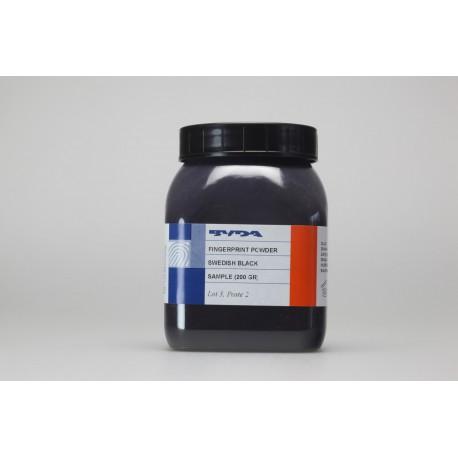 Poudre conventionnelle noire de qualité supérieure - pot de 200 g