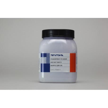 Poudre conventionnelle blanche de qualité supérieure - pot de 200 g