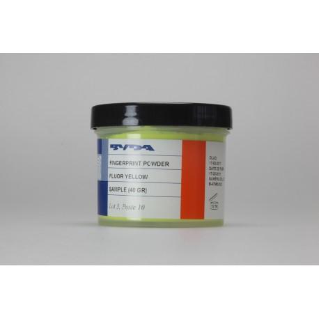 Poudre conventionnelle jaune fluo - pot de 40 g