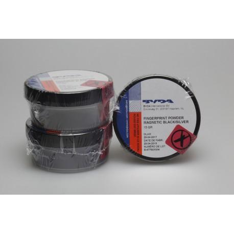 Poudre magnétique noire jetable - pot de 15g