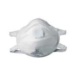 Demi-masque de protection FFP3 avec soupape - 10 pièces