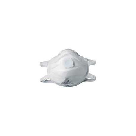Demi-masque de protection FFP3 avec soupape - 5 pièces