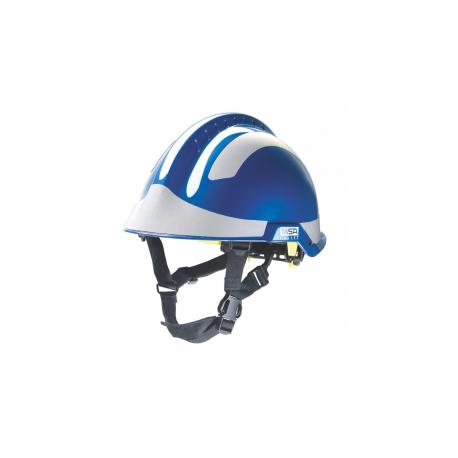 Casque de protection en milieux perilleux bleu F2 X-TREM - l'unité