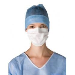 Masque hygiène 3 plis Type II avec élastique non tissé - 200 pièces