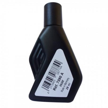 Flacon encre polypalstique noire 50ML - l'unité