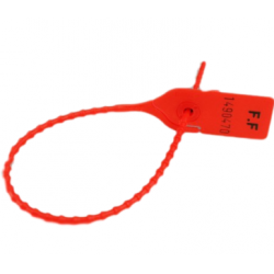 Liens sécurisés SIMPLE SEAL 20 cm - Rouge - lot de 100