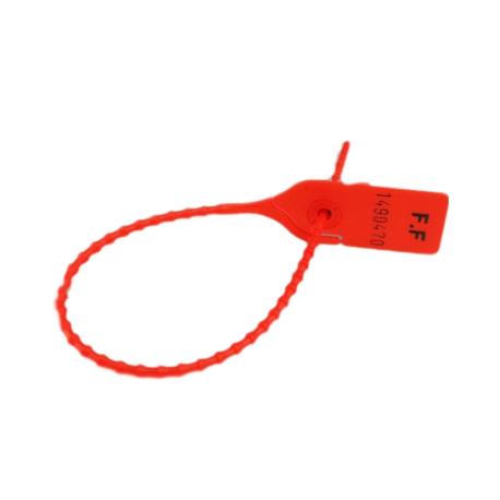 Liens sécurisés SIMPLE SEAL 20 cm - Rouge - lot de 100
