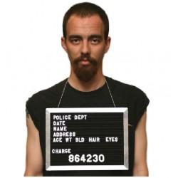 Plaque d'identification pour suspect - l'unité