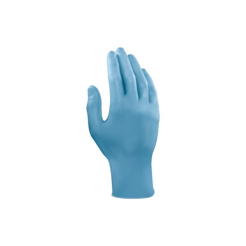 gant nitrile bleu non poudr epaisseur mm 100 gants md tech. Black Bedroom Furniture Sets. Home Design Ideas