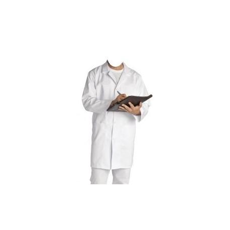 Blouse coton blanc - l'unité