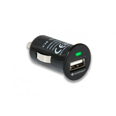 Chargeur allume cigare 12 /24 V + USB pour lampe torche - l'unité