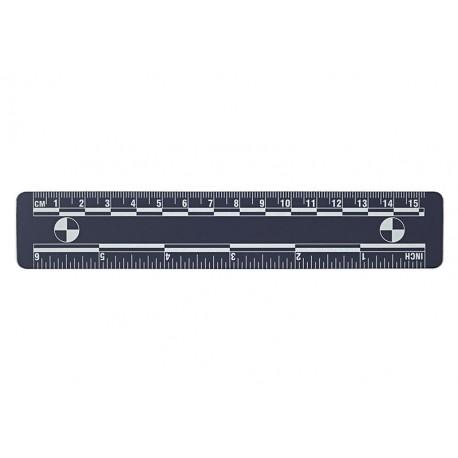 Réglets magnétiques 15 cm - lot de 5