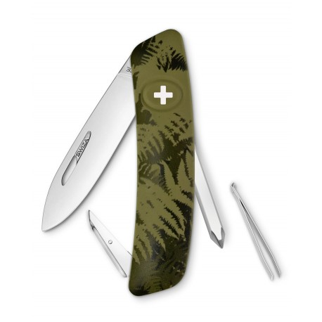 Couteau suisse SWIZA C02 Kaki - l'unité
