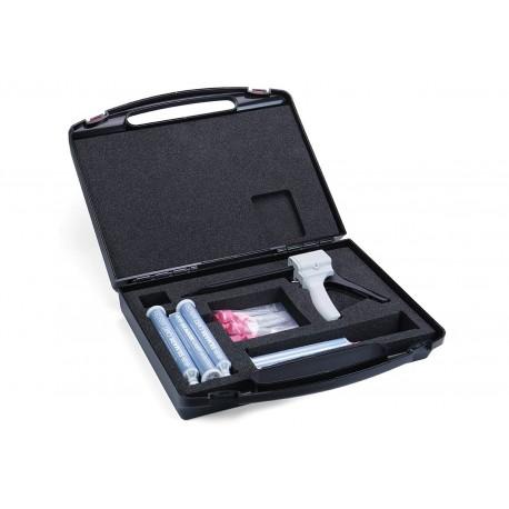 Kit de moulage (1 pistolet applicateur + 2 cartouches 75 ml + 10 embouts)