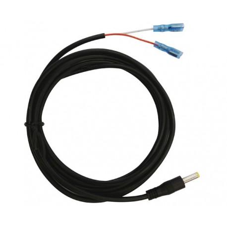 Câble alimentation batterie 6 volts pour caméras UOVision - l'unité