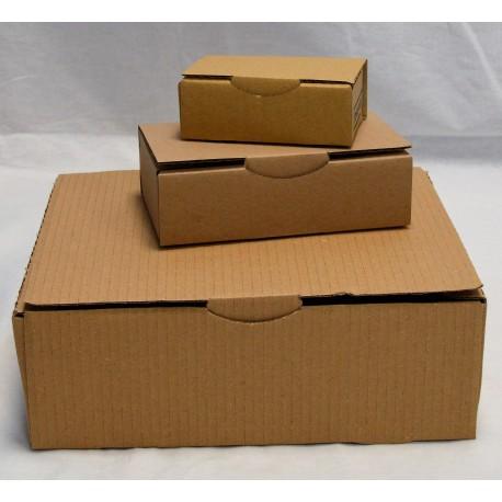 Boîte cartonnée à sceller - sans fenêtre - Lot de 20