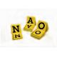 Lot de marquage: Cavaliers jaunes avec equerre millimétrée pleine de A à Z - le lot