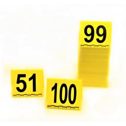 Lot de Marquage : Cavalier avec test centimétrique de 51 à 100
